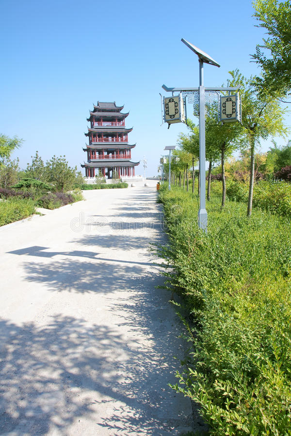 Download Chinese Tower Royalty Free Stock Photos - Image: 26367038
