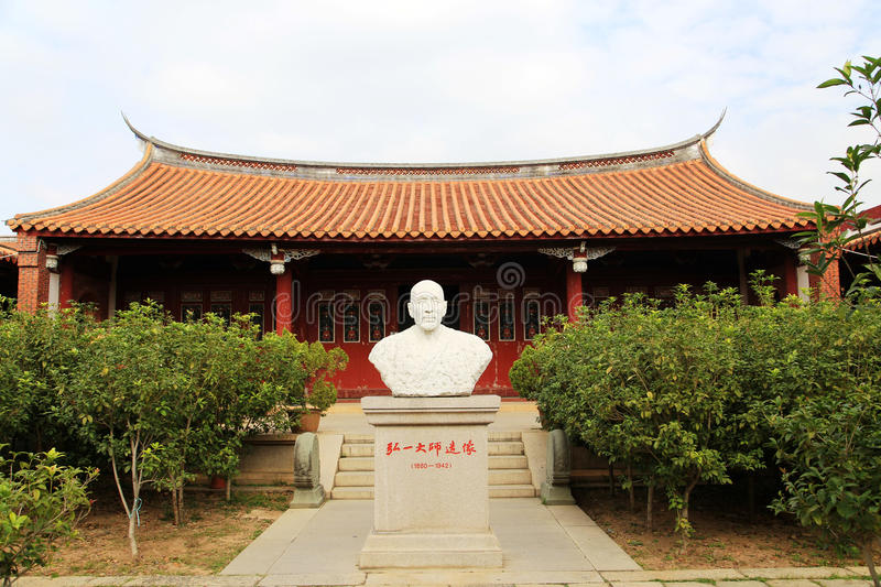 Chinese traditional Buddhist temples, Kaiyuan Temple. Located in quanzhou city ,Fujian province , China stock images