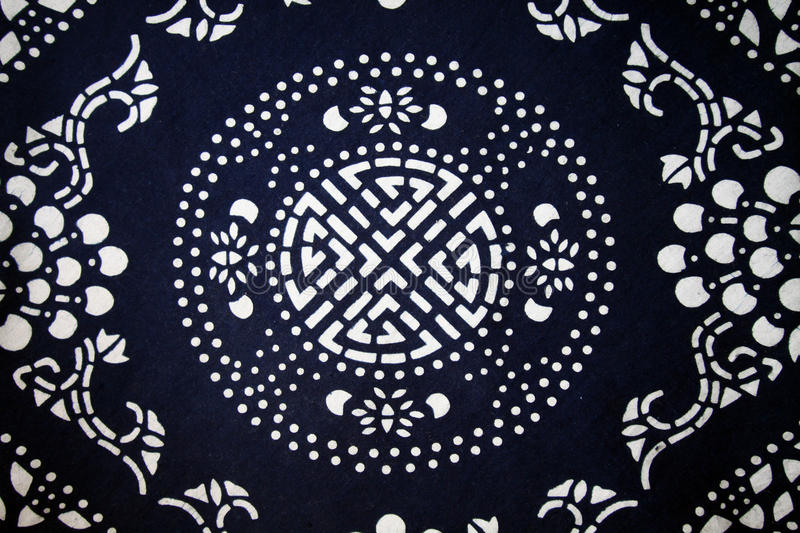 Chinese traditional cloth's pattern background royalty free stock photo