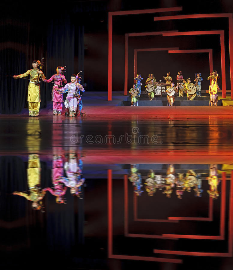 Download Chinese Traditional Folk Instrumental Concert Performance Editorial Stock Image - Image: 31267054