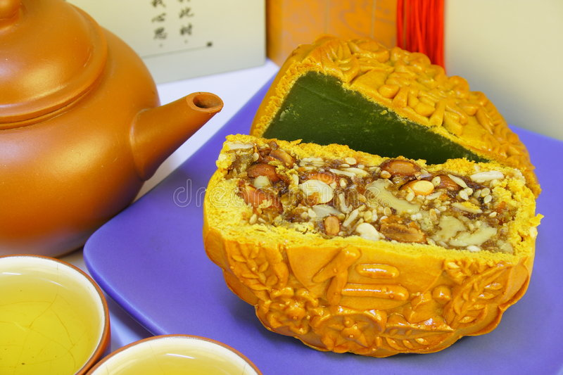 Chinese Traditional Food Stock Photo