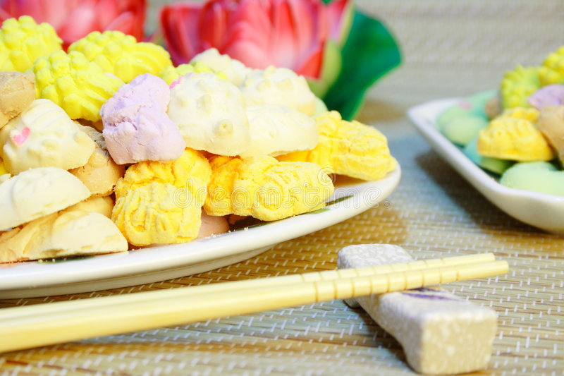 Chinese Traditional Food (New Year) stock photography