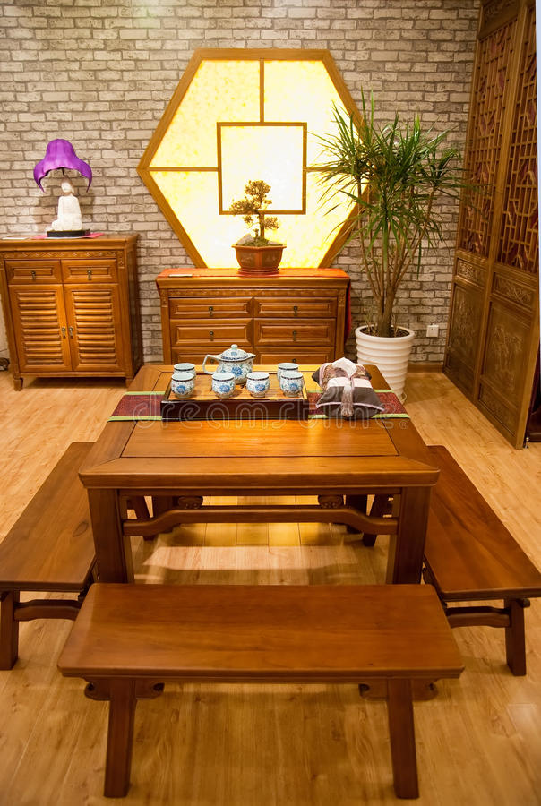 Download Chinese Traditional Furniture Stock Image - Image: 12769999