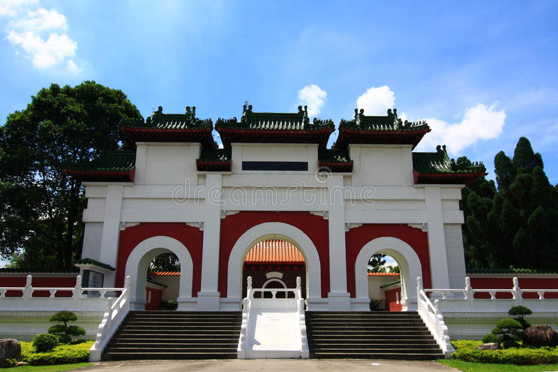 Download Chinese Traditional Gate stock photo. Image of culture - 14336760