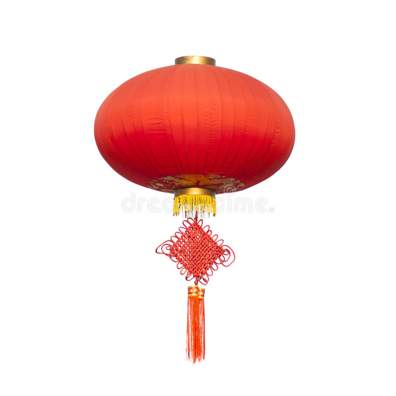Free Chinese Traditional Knot And Lantern Royalty Free Stock Photo - 24695175