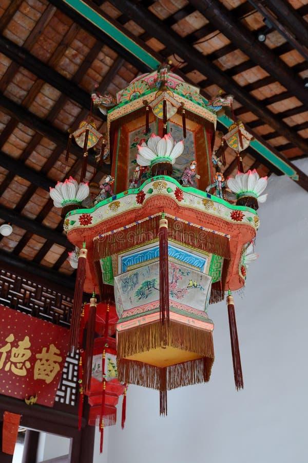 Chinese traditional lanterns stock photo