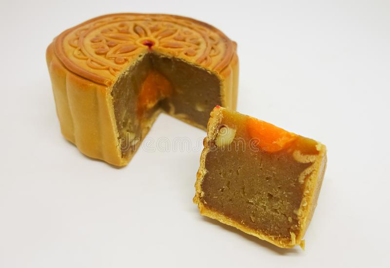 Chinese Traditional Mooncake royalty free stock image