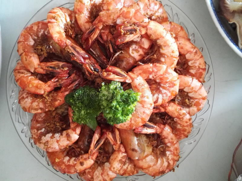 Chinese Traditional Prawn royalty free stock photography