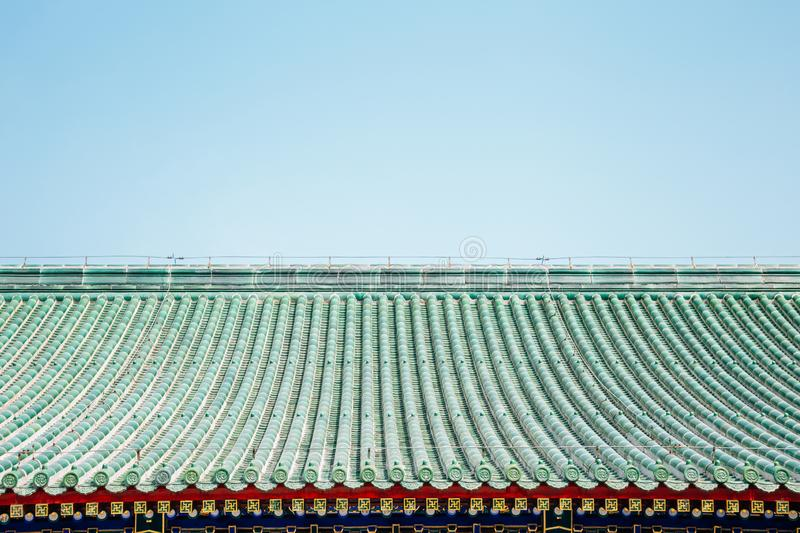 Chinese traditional roof background royalty free stock images