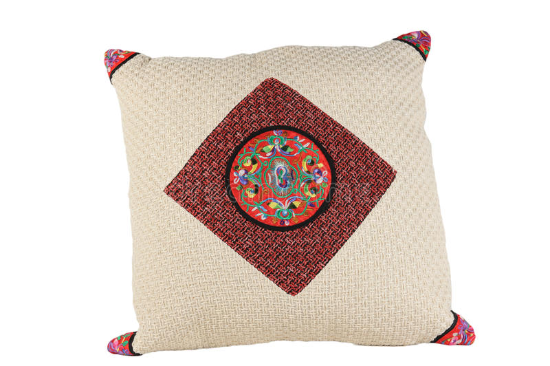 Chinese Traditional Style Pillow Stock Photos