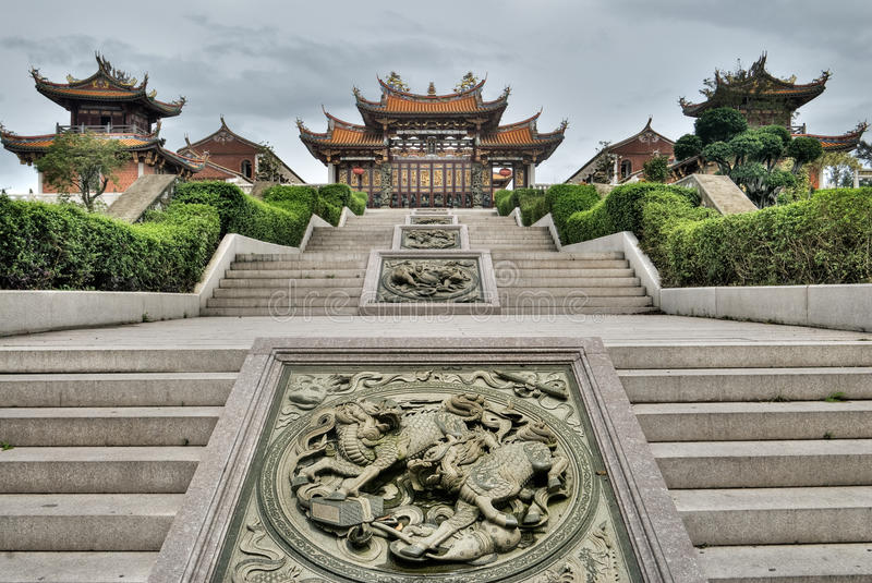 Chinese traditional temple royalty free stock photo