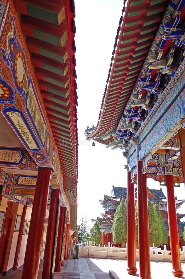 Chinese traditionele architectuur stock fotografie