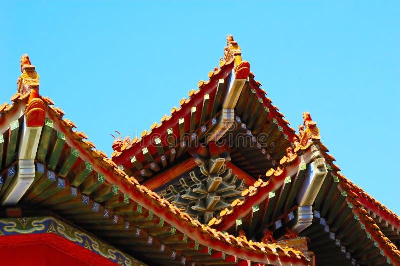 Chinese traditionele bouw stock foto