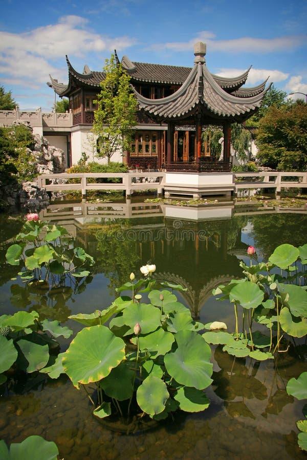 Chinese Tuin stock fotografie