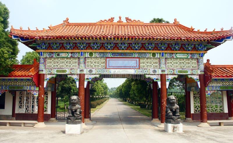 Download Chinese tuin stock afbeelding. Afbeelding bestaande uit oosters - 10778409