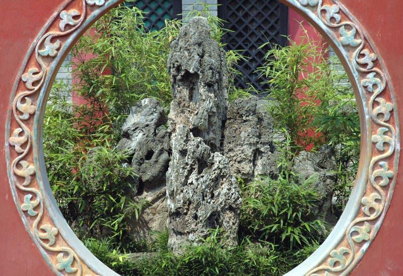 Chinese tuin royalty-vrije stock foto