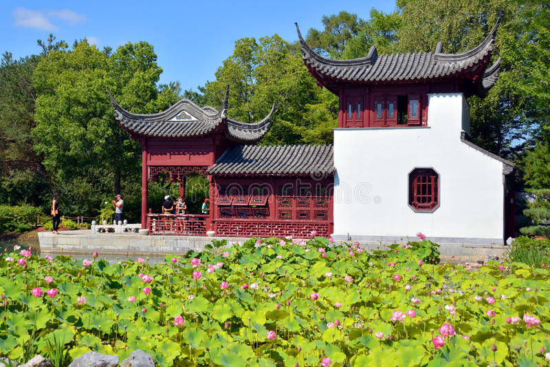 Chinese Tuin stock afbeeldingen