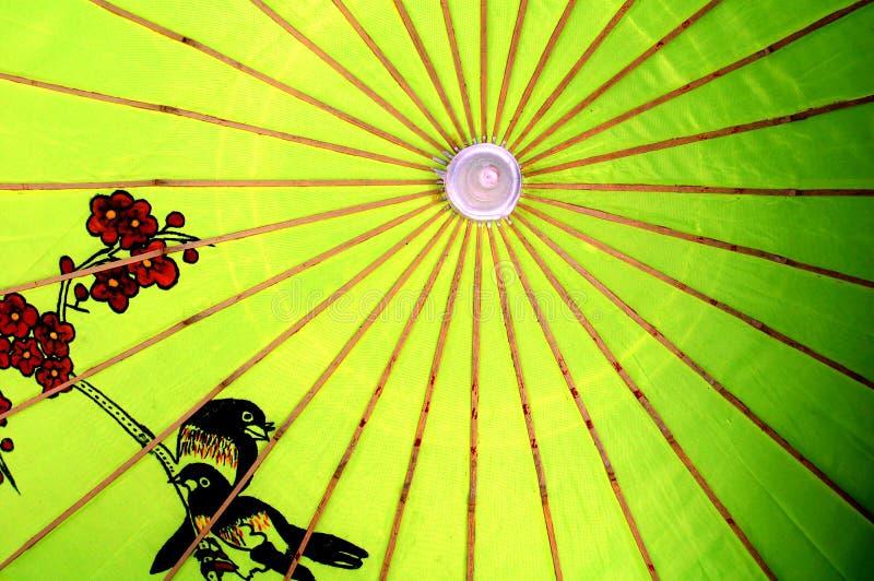 Chinese umbrella stock images