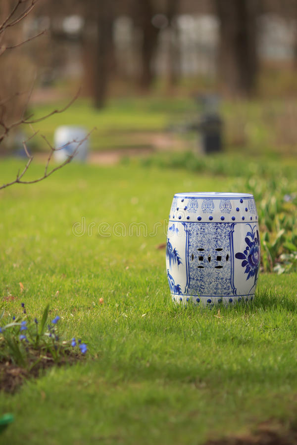 Chinese vases for incense royalty free stock photo