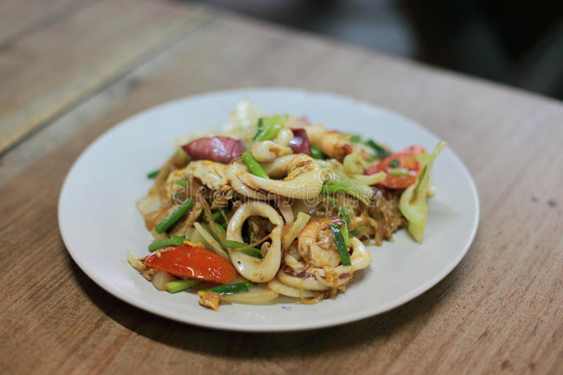 Chinese vegetable stir fry recipe. The image of delicious food chinese vegetable stir fry recipe royalty free stock photography