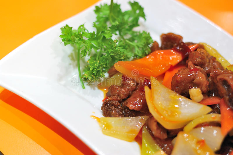 Chinese vegetarian mock meat royalty free stock images
