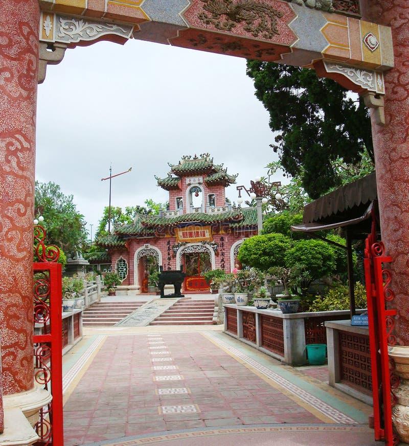 Chinese vergaderingszaal, Vietnam royalty-vrije stock afbeeldingen