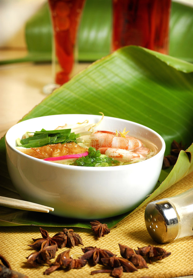 Chinese and Vietnamese food royalty free stock photos