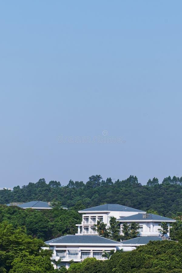 Download Chinese  Villa stock image. Image of trees, villa, holiday - 24708783