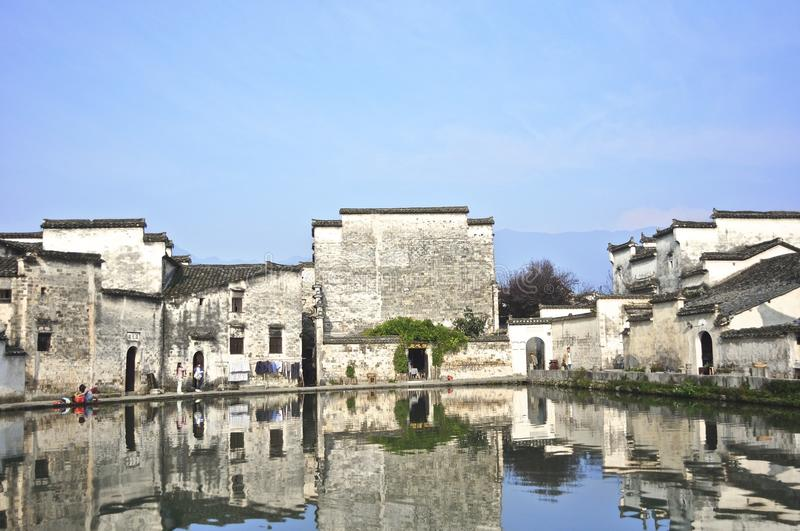 Download In a Chinese Village stock image. Image of site, qing - 26474945