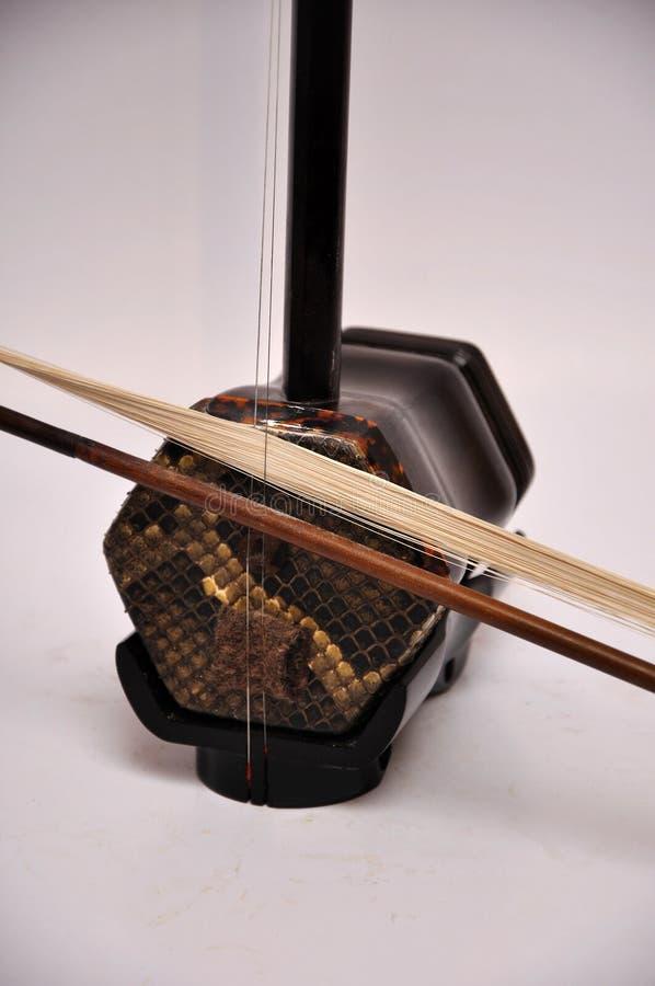 Chinese viool stock foto
