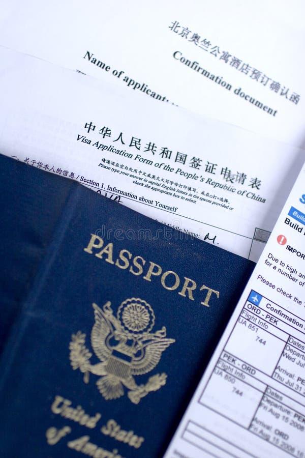 Free Chinese Visa Application Royalty Free Stock Photo - 5820685