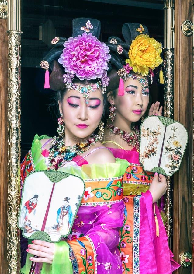 Chinese Vrouw stock foto