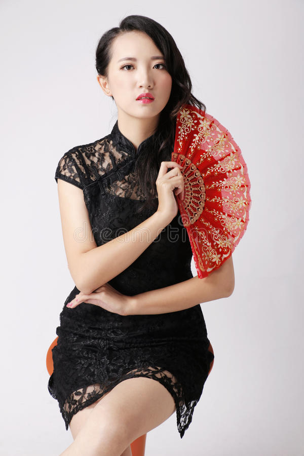Chinese vrouwen royalty-vrije stock foto