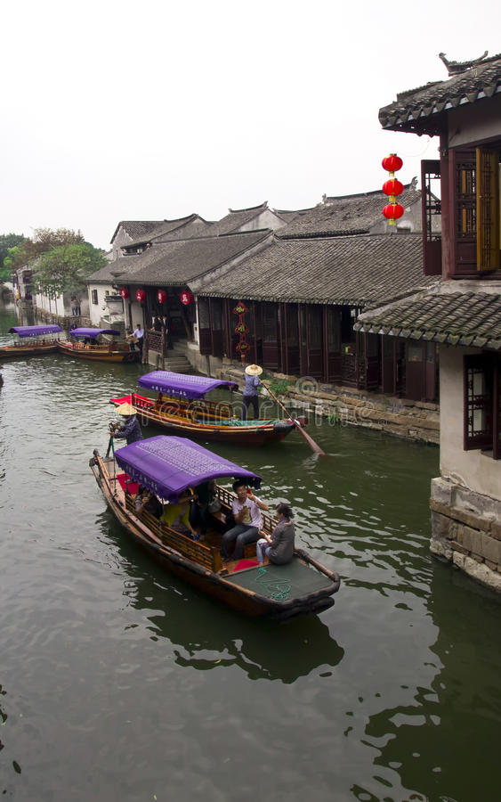 Download Chinese Water Village Editorial Stock Photo - Image: 21386953