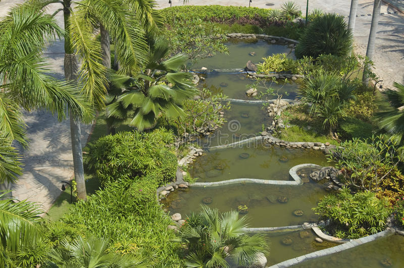 Chinese watertuin royalty-vrije stock foto's