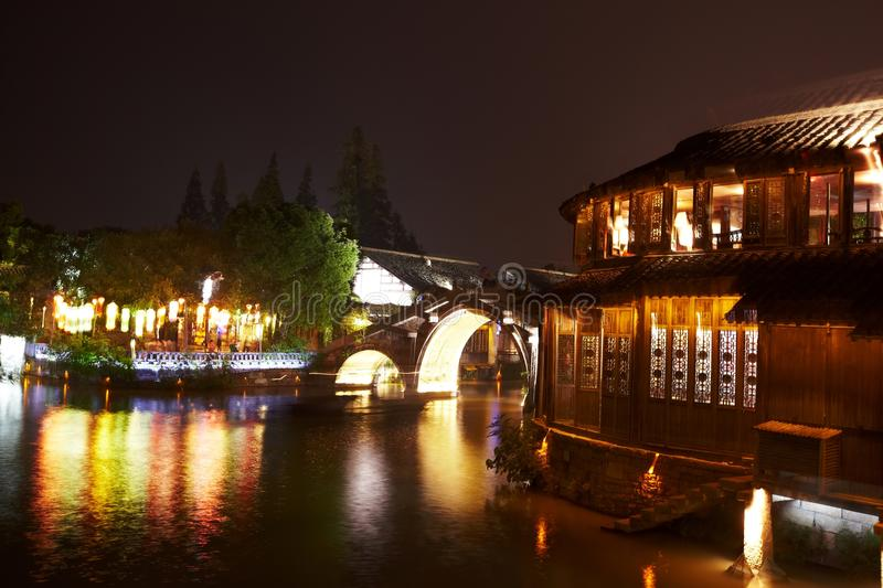 Download The Chinese Watery Town Buildings Stock Photo - Image: 26991918