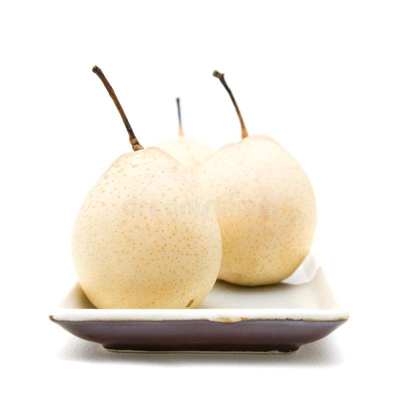 Download Chinese White Pear stock image. Image of vitamin, taste - 13273295