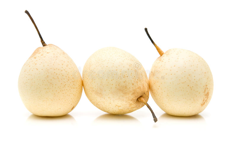 Chinese White Pear Royalty Free Stock Images