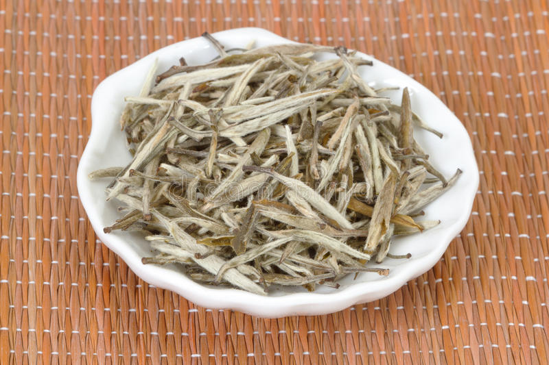 Chinese white tea stock images