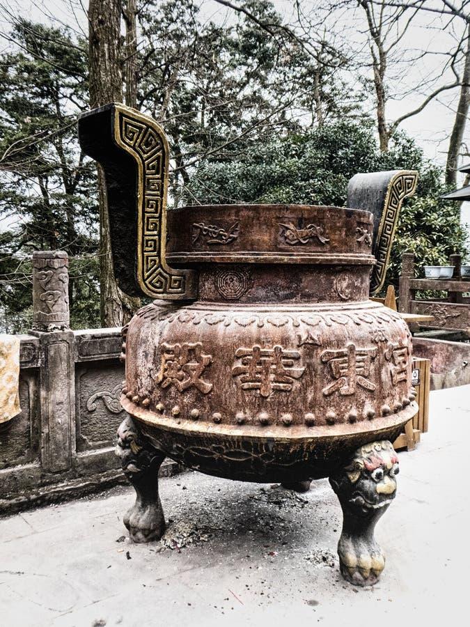 Chinese wierookbrander royalty-vrije stock fotografie
