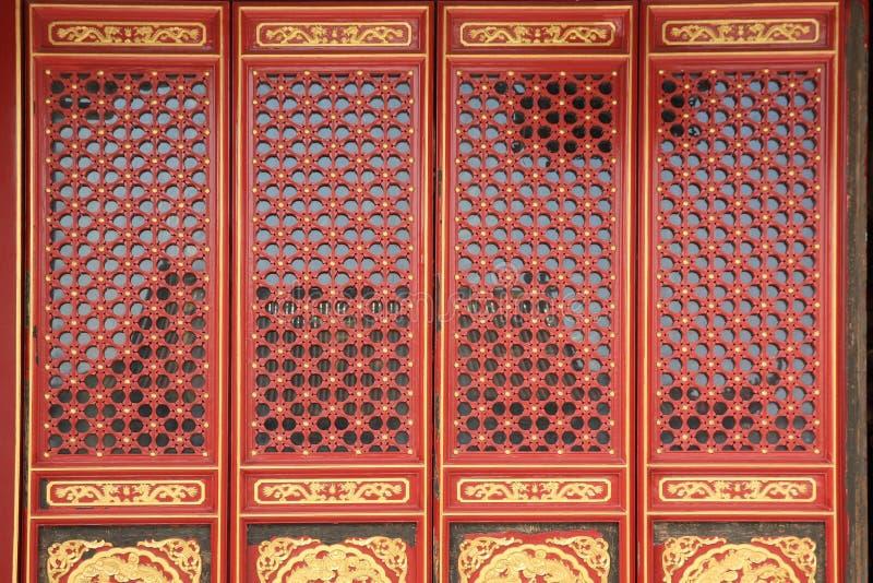 Chinese window and door
