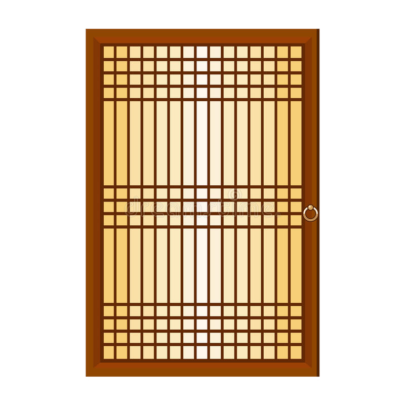 Download Chinese Window Isolated Illustration Stock Vector - Illustration of ornamental, tradition: 33516384