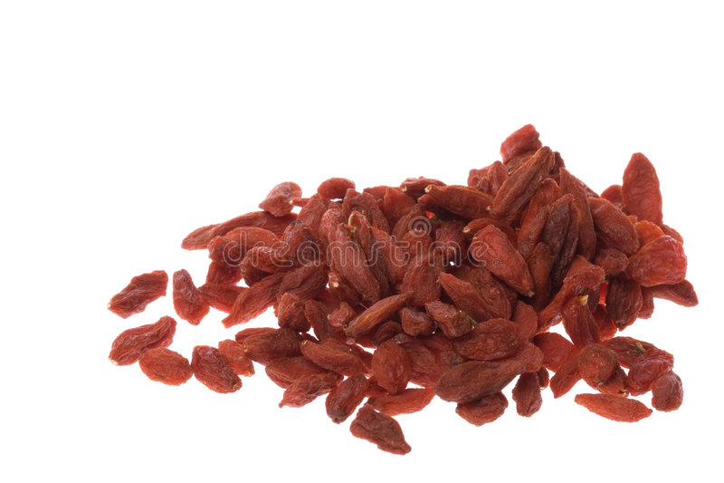 Download Chinese Wolfberries Herb Macro Stock Image - Image: 6460983
