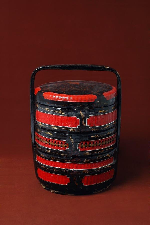 Free Chinese Wood Wedding Basket Royalty Free Stock Image - 8371936