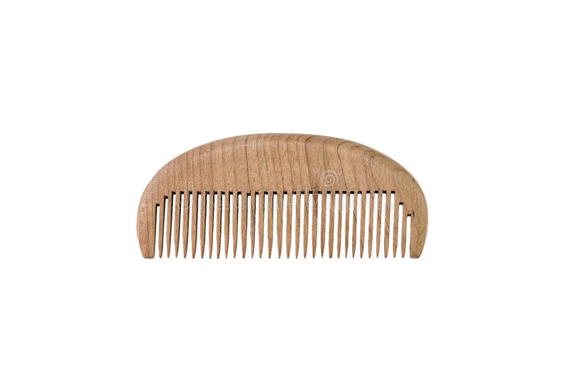 Chinese Wooden Comb royalty free stock photo