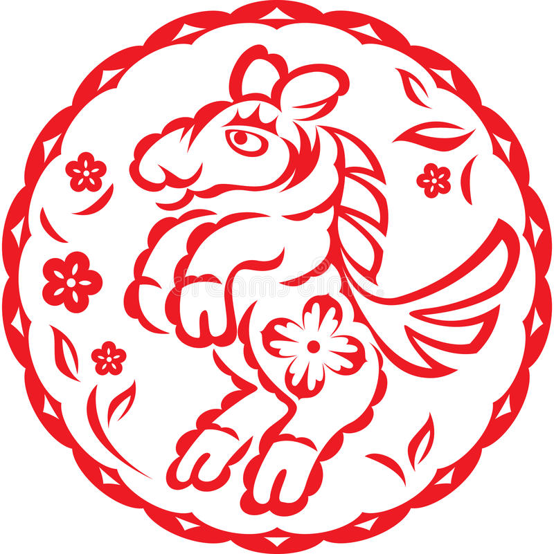Download Chinese year of Horse stock vector. Image of astrology - 21984896