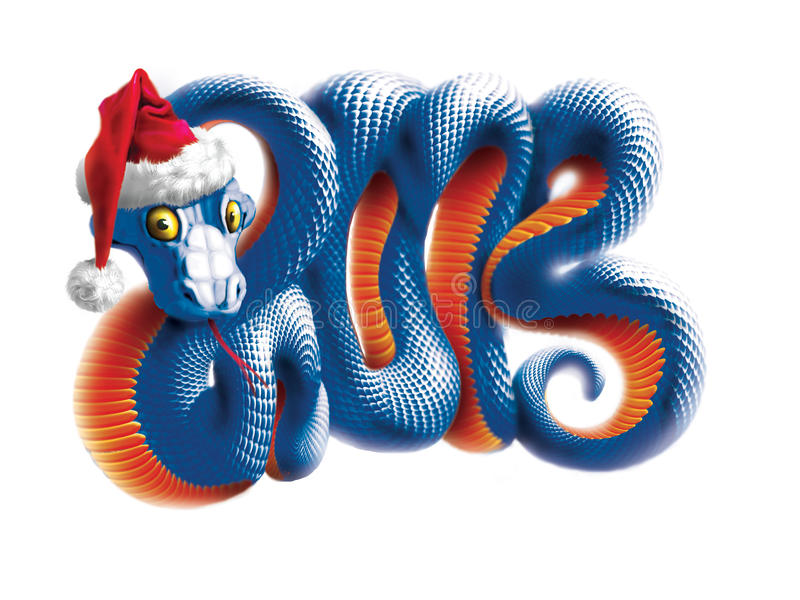 Chinese Year of Snake royalty free stock photography