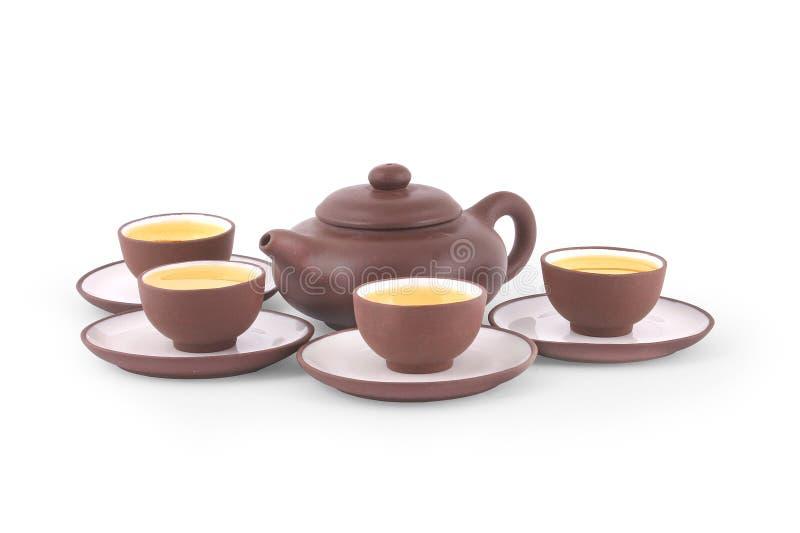 Chinese Yixing Tea Set stock photography