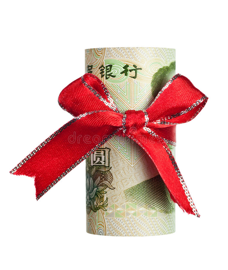 Download Chinese yuan gift stock image. Image of financial, give - 18682031