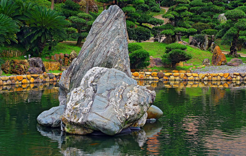 zen garden with rocks stock photo image of peace asia